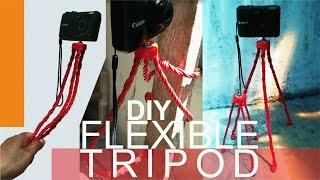 DIY FLEXIBLE TRIPOD #1 | Reupload