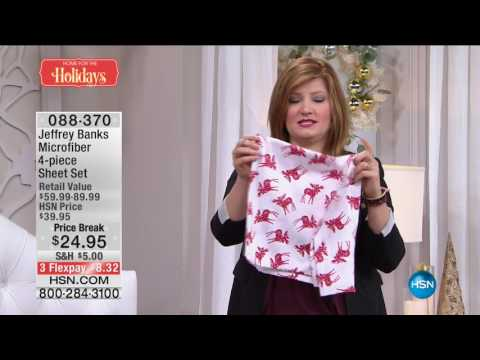 HSN | Jeffrey Banks Home Gifts 12.07.2016 - 12 PM