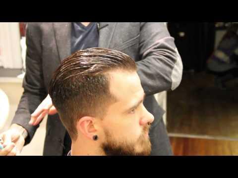Pompadour haircut how to cut a pompadour haircut how to style a pompadour Clipper over comb
