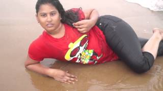 Indian hot desi actress romantic time in beach II SHORT CLIPS II
