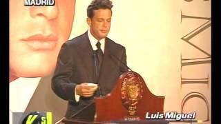 Madrid: Luis Miguel habla de Ricky Martin, Enrique Iglesia - Versus