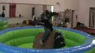 Mechanical Bull and Surfboard Ride