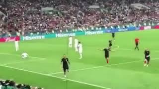Mario Mandžukić Goal England vs Croatia FIFA World Cup 2018 (11/07/18)