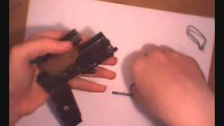 how to make a homemade single shot pistol (22 cal)