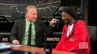 Why Won't Bill Maher Stop Touching Snoop Lion?