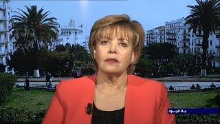 رئيسة حزب الاتحاد من اجل التغيير والرقي الجزائري زبيدة عسول في بلاقيود