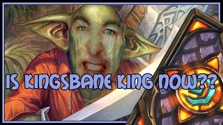 Is kingsbane king now?? | Kingsbane rogue | The Witchwood | Hearthstone