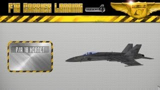 F18 Carrier Landing Lite - iPhone & iPad Gameplay Video