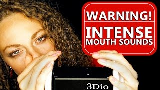 Warning! Intense Wet Mouth Sounds & ASMR Ear Massage Binaural Ear to Ear – 20+ Minutes