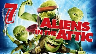 Aliens in the Attic Walkthrough Part 7 (PS2, Wii, PC) Movie Game - Level 07 -