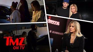 Khloe Kardashian and Blac Chyna Have A Run In! | TMZ TV