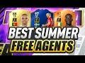 BEST SUMMER FREE AGENTS!?