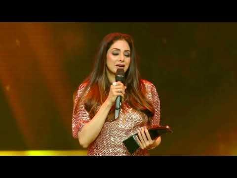Xxx Mp4 India S Only Female Superstar Sridevi S Last Award As Style Legend Award At HT Fashion Awards 2018 3gp Sex