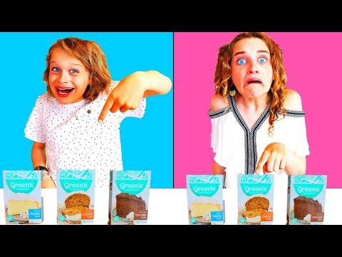 TWIN TELEPATHY CAKE CHALLENGE 2 hilarious with The Norris Nuts SIS Vs BRO style
