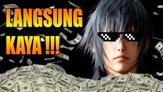 Final Fantasy 15 - Jadi KAYA Dengan CEPAT & EXP Mudah!! (Area Cleigne)
