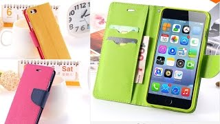 OnlineStore.RidwanRReyza.com Luxury Wallet Stand Flip Leather Case For iPhone 6 & 6 Plus