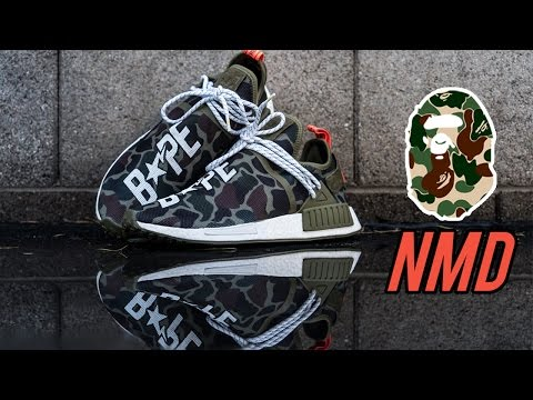Restorations With Vick - Custom Bape Human Race NMD