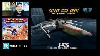 Star Wars: Rogue Squadron (Nintendo 64) Part 1 - Cinemassacre Plays