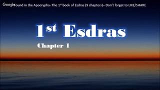 Live Stream:  1st Book of Esdras (Start Over)