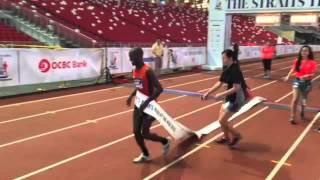 ST Run 2015 - 28-year-old Kenyan David Kibet wins