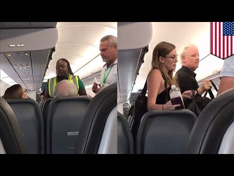Airline removes passengers: Frontier kicks father, daughter off plane for complaining - TomoNews