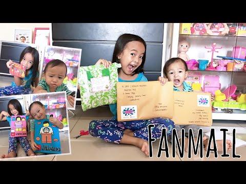 Zara Kenzo buka dua Fanmail penuh Seni   Karakter Lego, Doraemon, Frozen, Tayo