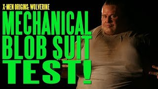 X-Men Wolverine Blob Mechanical Suit Test