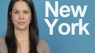 How to Pronounce NEW YORK - American English Pronunciation