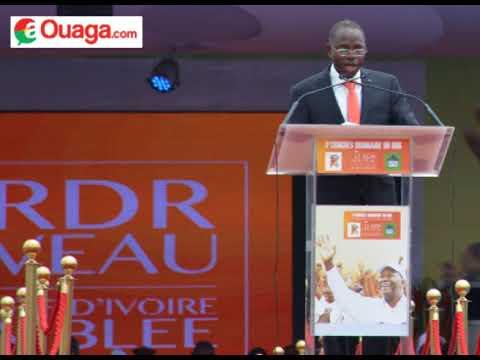 3e Congrès du RDR - Clément Sawadogo, vice président du Mouvement du Peuple pour le Progrès MPP