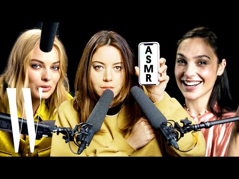 Xxx Mp4 Best Of ASMR Margot Robbie Gal Gadot And More Explore ASMR With Whispers And Sounds W Magazine 3gp Sex