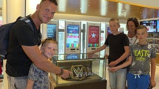 Get your picture with the WWE Championship today!
