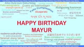 Mayur   Languages Idiomas - Happy Birthday