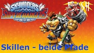 Hammer Slam Bowser Feuer Skylanders/Amiibo SuperChargers Skillen - beide Wege (German/Deutsch)