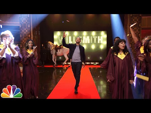 Will Smith s Awesome Tonight Show Entrance