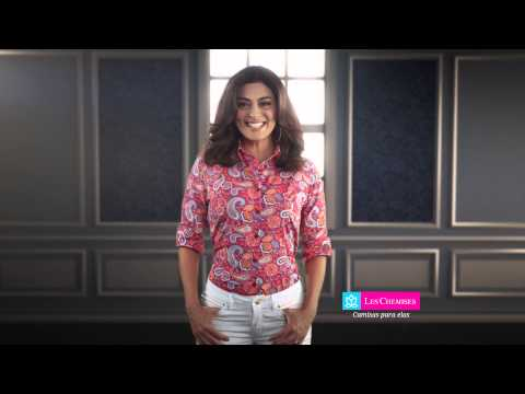 Campanha Les Chemises Juliana Paes