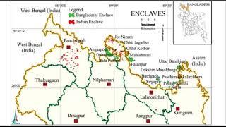 বাংলাদেশ ও ভারতের ছিট মহল সমুহ বিস্তারিত (২য় পর্ব)   Indian & Bangladeshi Enclave   BCS 24