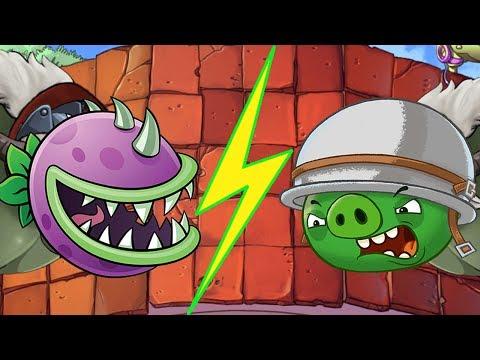 Plants vs Dr. Zomboss Mod Angry Birds - Plants vs Zombies Mod Angry Birds!