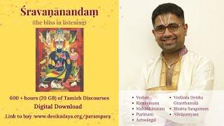 Part 2_Vishnu Sahasranama Mahimai Tamil by Sri.U.Ve.Dushyanth Sridhar at Pondicherry_Watch 1 hr