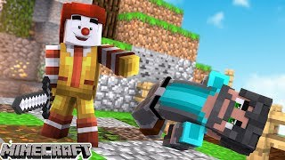 MY PARTNER IS A HACKER! | Minecraft: Bed Wars