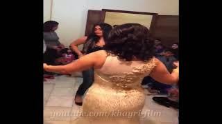 مسرب رقص المغنيه السوريه فى حفله زفاف صديقتها
