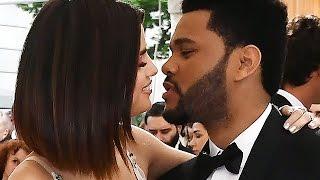 Selena Gomez & The Weeknd Say I Love You At PDA Filled Met Gala