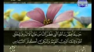 الشيخ سعد الغامدي - سورة  الروم كاملة