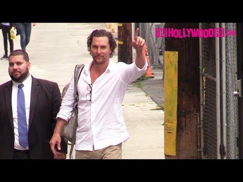 Xxx Mp4 Matthew McConaughey Arrives To Jimmy Kimmel Live Studios In Hollywood 5 21 18 3gp Sex