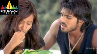 Chirutha Movie Neha Barganing for Fish Scene | Ram Charan, Neha Sharma | Sri Balaji Video