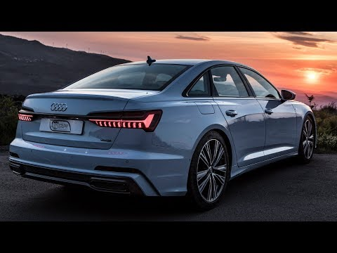 FINALLY THE 2019 AUDI A6 340HP 500NM V6Turbo IMPRESSIVE OLED 4 wheel steering and more.