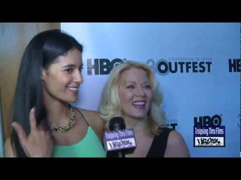 Jessica Clark in Lesbian Film A PERFECT ENDING