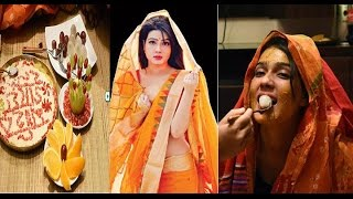 Mahiya Mahi Wedding and Gaye Holud Exclusive Video