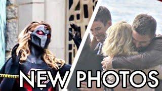 Crisis On Earth X All New Photos ft Earth X Supergirl | Major Death Revealed | FLASH 4x08 PHOTOS !!!