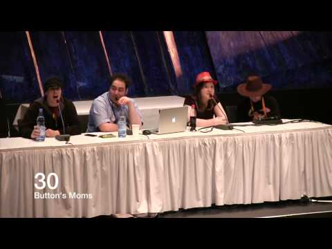BUTTON'S MOMS - Jan, Shady & Eile's Funniest Moments at GalaCon 2014 2/2
