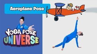 Aeroplane Pose | Yoga Pose Universe